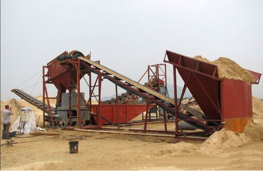 Gold Ore Dressing Plant